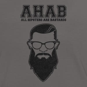 ALL HIPSTERS ARE BASTARDS - Funny Parody  T-Shirts - Women's Ringer T-Shirt