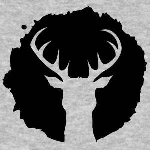 Deer Patch T-Shirts - Men's Organic T-shirt