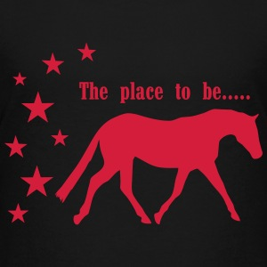 The Pleace to be -- Horse Tee shirts - T-shirt Premium Ado