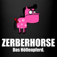 Motiv ~ Pferdetasse schwarz