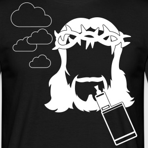 JESUS would VAPE T-shirts - Herre-T-shirt