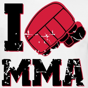 I love MMA T-Shirts - Men's T-Shirt