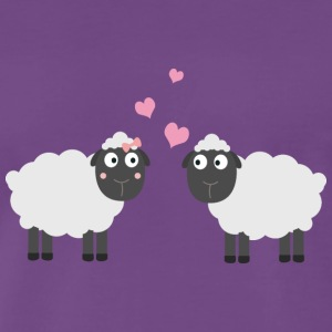 In love with sheep T-Shirts - Men's Premium T-Shirt