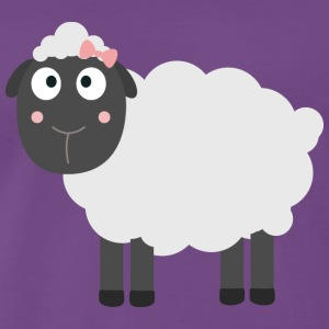 Cute sheep T-Shirts - Men's Premium T-Shirt