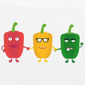 Three peppers Bags & Backpacks - EarthPositive Tote Bag