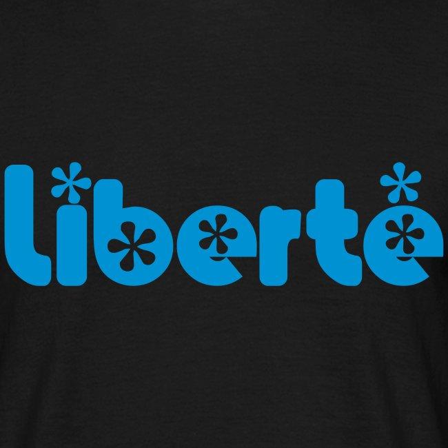 T-SHIRT LIBERTE Noir-Ciel