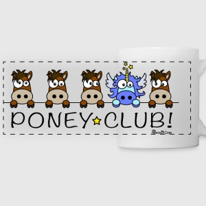 Tasse panorama, Licorne, Poney Club - Tasse panorama