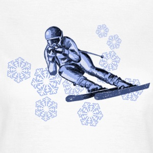 skiing T-Shirts - Women's T-Shirt