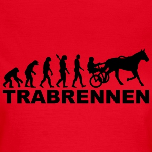 Evolution Trabrennen T-Shirts - Frauen T-Shirt