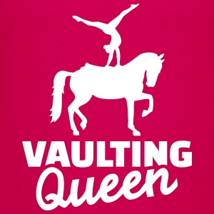 Vaulting Queen T-Shirts - Kinder Premium T-Shirt