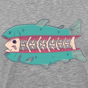 Cutted fish - T-shirt Premium Homme