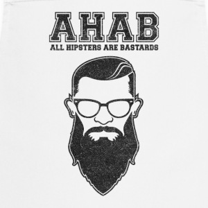 ALL HIPSTERS ARE BASTARDS - Funny Parody  Fartuchy - Fartuch kuchenny