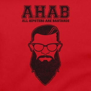 ALL HIPSTERS ARE BASTARDS - Funny Parody  Bags & Backpacks - Shoulder Bag