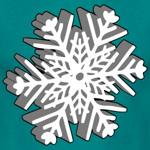 Christmas snowflake T-Shirts - Men's T-Shirt