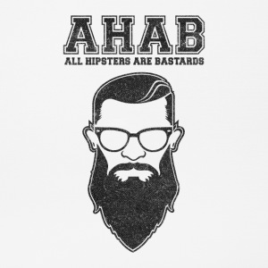 ALL HIPSTERS ARE BASTARDS - Funny Parody  Sonstige - Mousepad (Querformat)