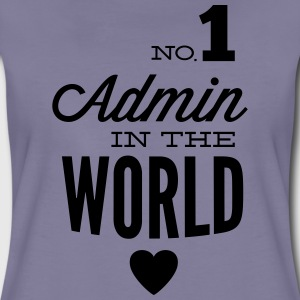The best Admin in the world T-Shirts - Women's Premium T-Shirt