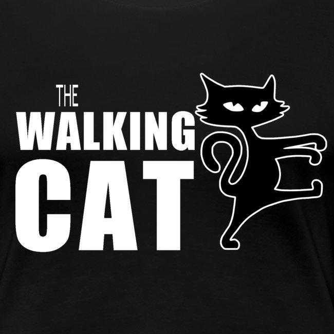 The Walking Cat Damen T-Shirt