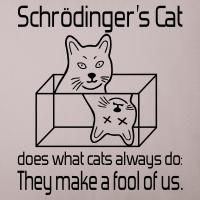 """Nerd T-Shirts mit """"Schrödingers Katze"""""""