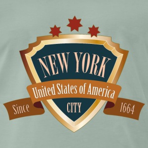 NEW YORK United States of America Big Apple - Männer Premium T-Shirt