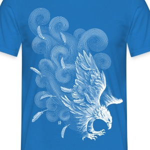 Royalblau Windy Wings T-Shirts - Männer T-Shirt
