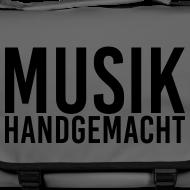 Motiv ~ Musik Handgemacht (Tasche)