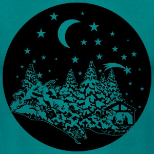 Noël Holy Night Tee shirts - T-shirt Homme