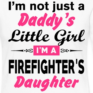 Im Not A Daddy Little Girl Im A Firefighter Daugh Long Sleeve Shirts - Women's Premium Longsleeve Shirt