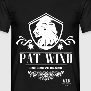 Pat Wind - White Lion  - Männer T-Shirt