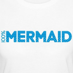 100%Mermaid T-Shirts - Frauen Bio-T-Shirt