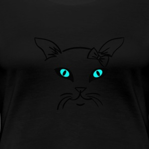 Katze single by Claudia-Moda T-shirts - Premium-T-shirt dam