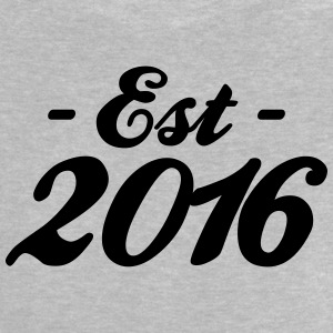 established 2016 Camisetas Bebés - Camiseta bebé