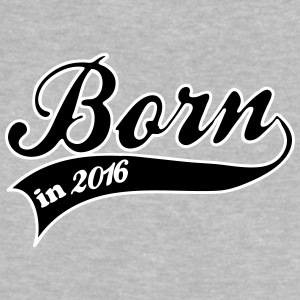 born in 2016 Babytröjor - Baby-T-shirt
