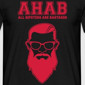 ALL HIPSTERS ARE BASTARDS - Funny Parody  T-Shirts - Men's T-Shirt