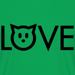 Love cats T-Shirts - Men's T-Shirt