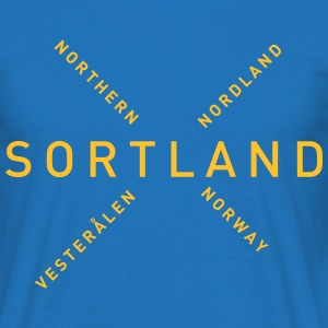 Sortland - Northern Norway - T-skjorte for menn