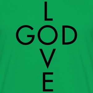 Lieve God T-shirts - Mannen T-shirt