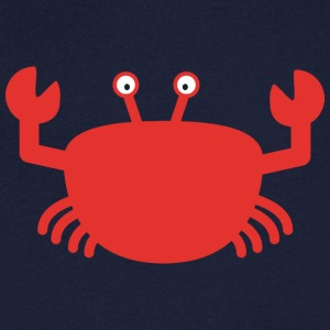 Red crab T-Shirts - Men's V-Neck T-Shirt