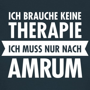 Therapie - Amrum T-Shirts - Frauen T-Shirt