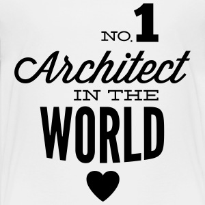 Bester Architekt der Welt T-Shirts - Teenager Premium T-Shirt