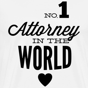 Best lawyer in the world T-Shirts - Men's Premium T-Shirt