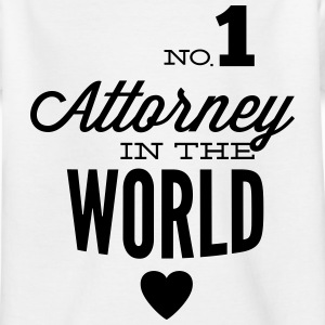Best lawyer in the world Shirts - Kids' T-Shirt