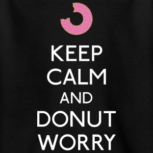 Keep Calm Donut worry T-Shirts - Teenager T-Shirt