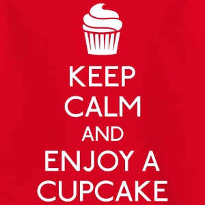 Keep Calm Cupcake Shirts - Teenage T-shirt