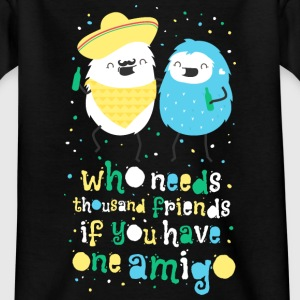 Amigos - best friends amigos - beste vrienden Shirts - Teenager T-shirt