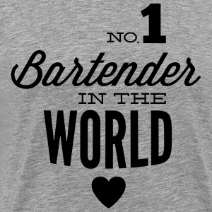 The best bartender in the world T-Shirts - Men's Premium T-Shirt
