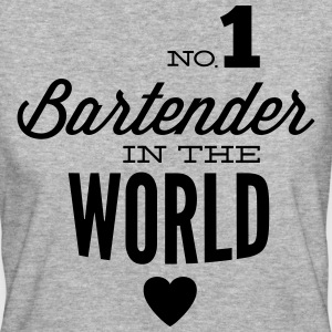 The best bartender in the world T-Shirts - Women's Organic T-shirt