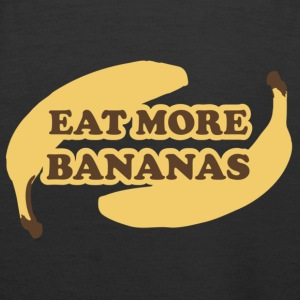 Marron Eat more bananas Sweatshirts - Sweat-shirt à capuche Premium pour femmes