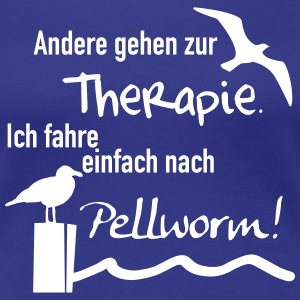 Therapie Pellworm T-Shirts - Frauen Premium T-Shirt