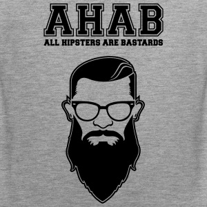 ALL HIPSTERS ARE BASTARDS - Funny Parody  Singlets - Premium singlet for menn