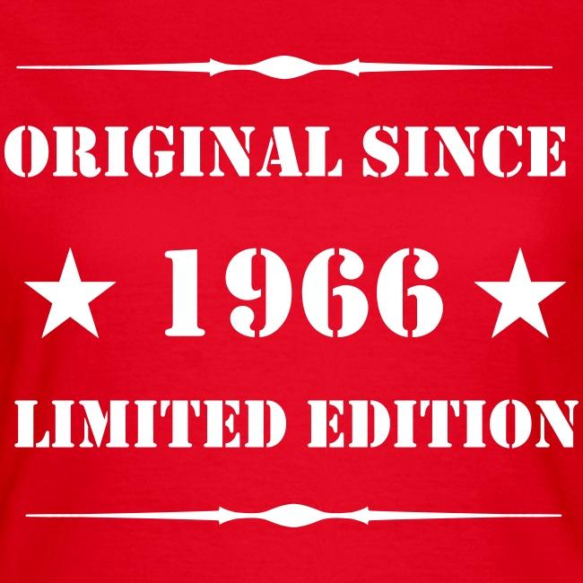 Girls Shirt mit Aufdruck, 1966 Limited Edition